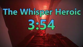 The Whisper Heroic Speedrun WR [3:54] - Destiny 2