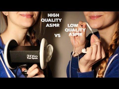 HIGH QUALITY ASMR VS. LOW QUALITY ASMR
