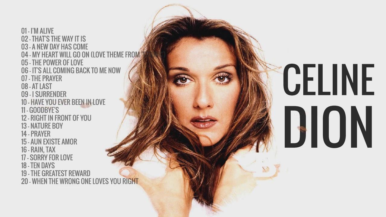 Download 100 Tracks Celine Dion discography Playlist 2008- 2019   Celine Dion Greatest Hits Full Album H/Q