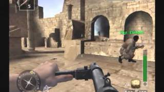 Call of Duty: Finest Hour (PS2) Scene 12- Raiding the Fortress