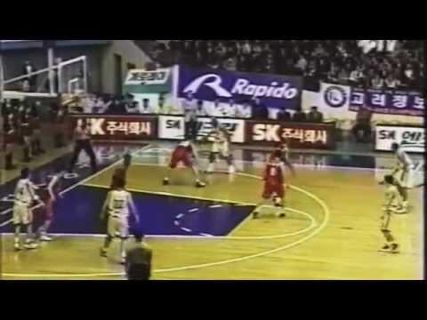 Vernel Singleton (Overseas Basketball) Samsung Thunder_ KBL Highlights (2000)