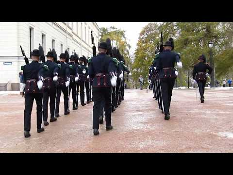 Royal Palace, Oslo, Norway: Changing of the Guard