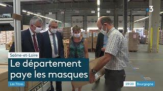 La Saône-et-Loire offre 130 000 masques à ses collégiens
