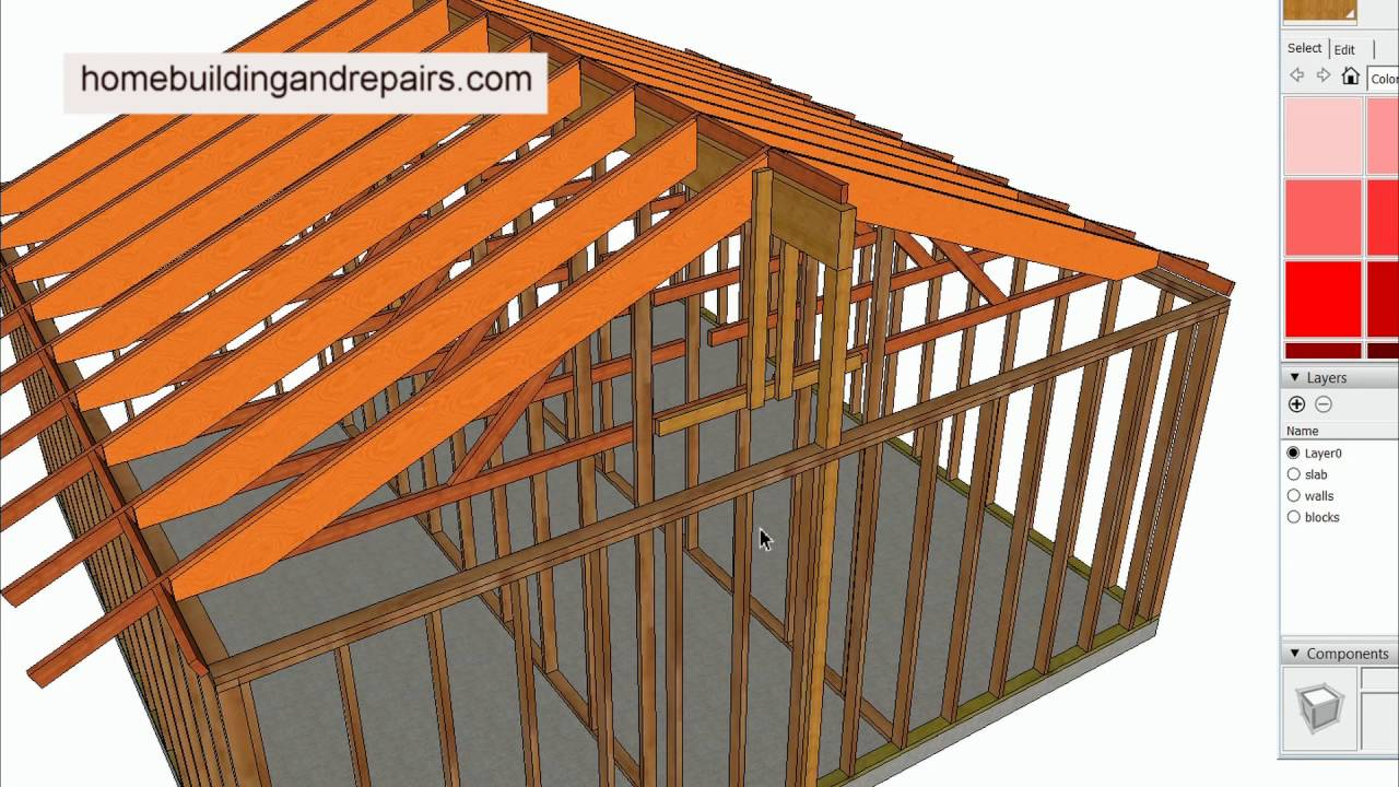 How Does Additional Weight Effect Building Structure For Truss Roof Conversion To Vaulted Ceiling