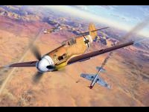 War Thunder реалистичный бои немецкий самолёт Bf.109e-1