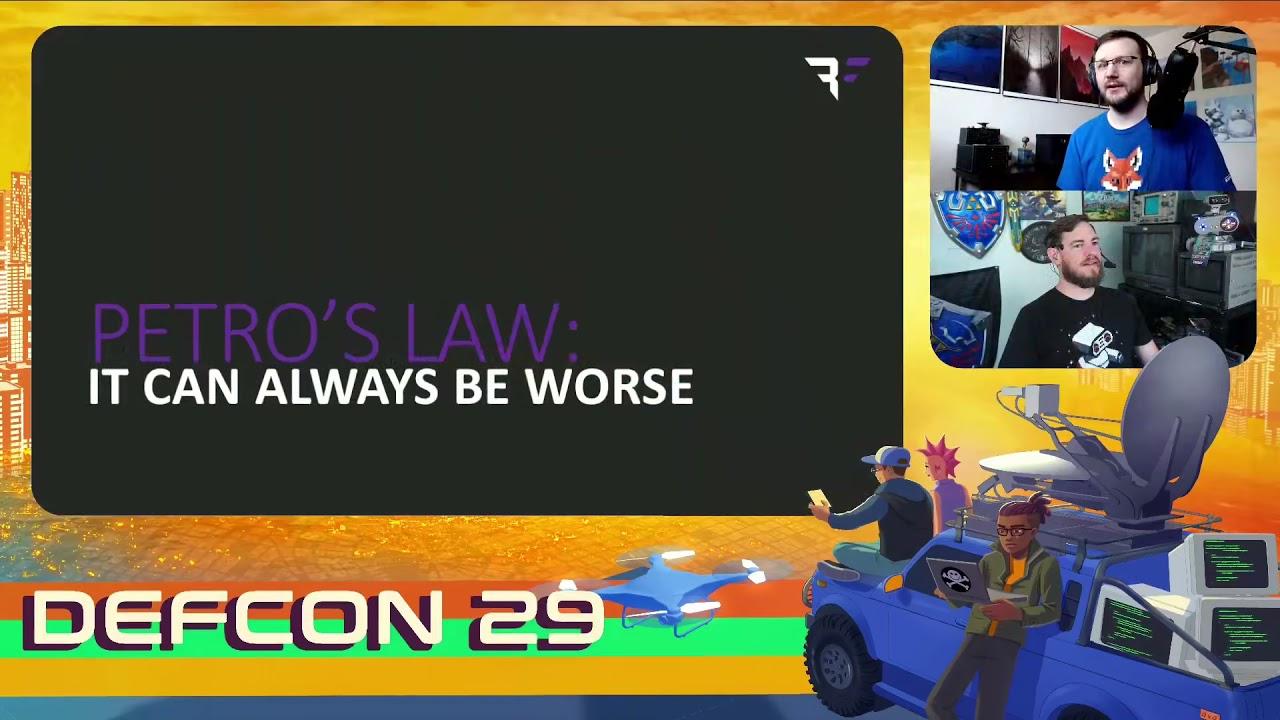 DEF CON 29 - Dan Petro - You're Doing IoT RNG