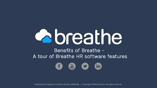 Here is katie explaining and taking you through the key features of breathe. breathe offers a simple secure cloud-based hr software for all uk small to m...