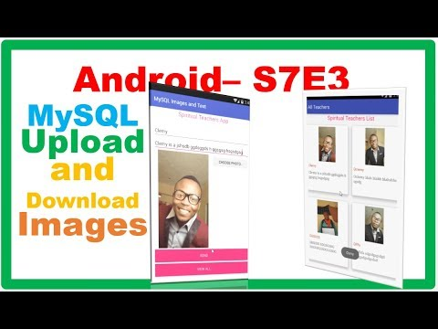 Android MySQL → Android PHP MySQL – Upload and Download