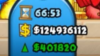 100,000,000+ Money & 400,000+ ECO! | Highest Eco and Money Ever! (Bloons TD Battles / BTD Battles)
