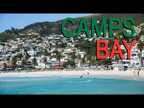 Camps Bay - Diário de Cape Town