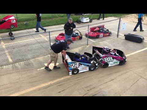 Delaware Speedway - go-kart racing action!