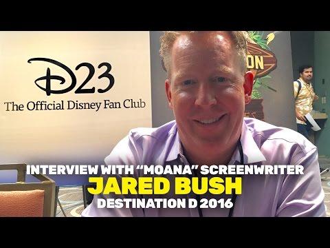 D23 : Screenwriter Jared Bush discusses