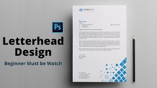 Letterhead Design in Photoshop Tutorial | How to Design A Letterhead | Maxpoint-Hridoy Mp3