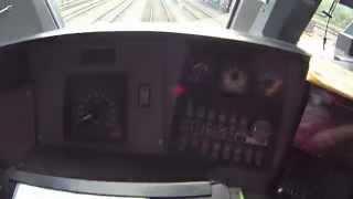 Видео из кабины электровоза серии 13 бельгийских железных дорог(Видео из кабины электровоза серии 13 бельгийских железных дорог. Рабочие будни, первое видео. Снято на Sony HDR AS200., 2015-09-19T16:21:39.000Z)