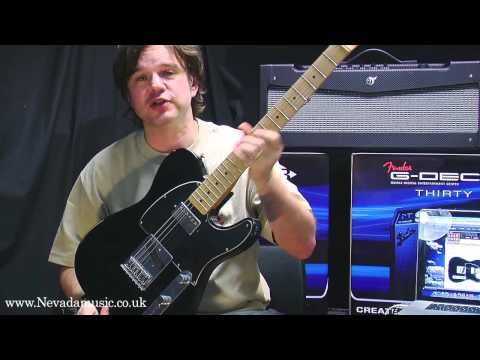 Fender Road Worn Player Telecaster demo with Damon from Fender UK