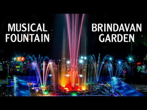 Musical Fountain Brindavan Garden Mysore | Musical Fountain Show near Mysore