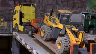 WORK ON THE BIG MINE - RC KOMATSU WA 600-6 TRANSPORT