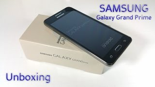 Samsung Galaxy Grand Prime UNBOXING