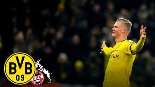 """It's fantastic to score in front of the Yellow Wall!"" 