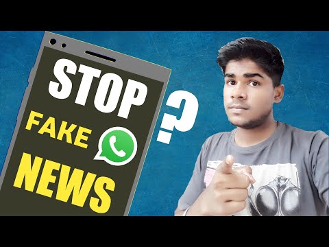 WHATSAPP Fake News Problem STOP | How to Find/Detect Fake News On WhatsApp | Tips and tricks 2018 |