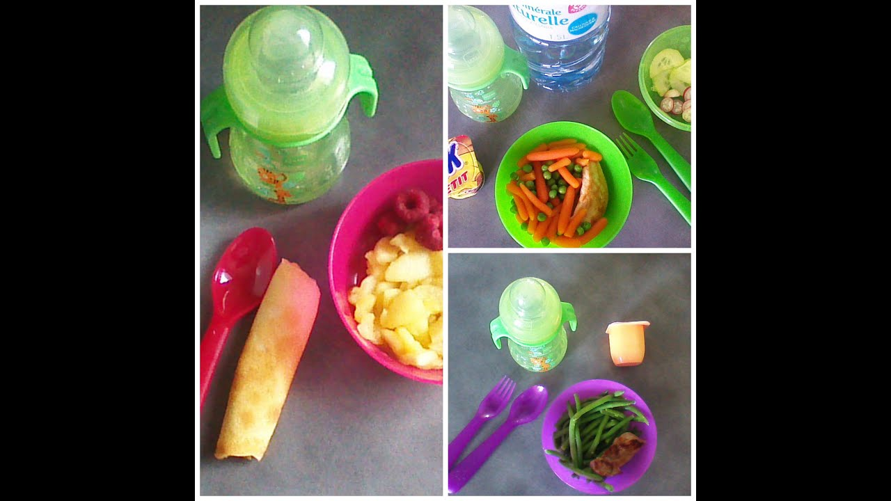 3 idées de repas pour bébé 1an