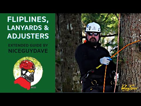 Guide To Fliplines, Lanyards And Adjusters In Tree Climbing With WesSpur's Dave Stice