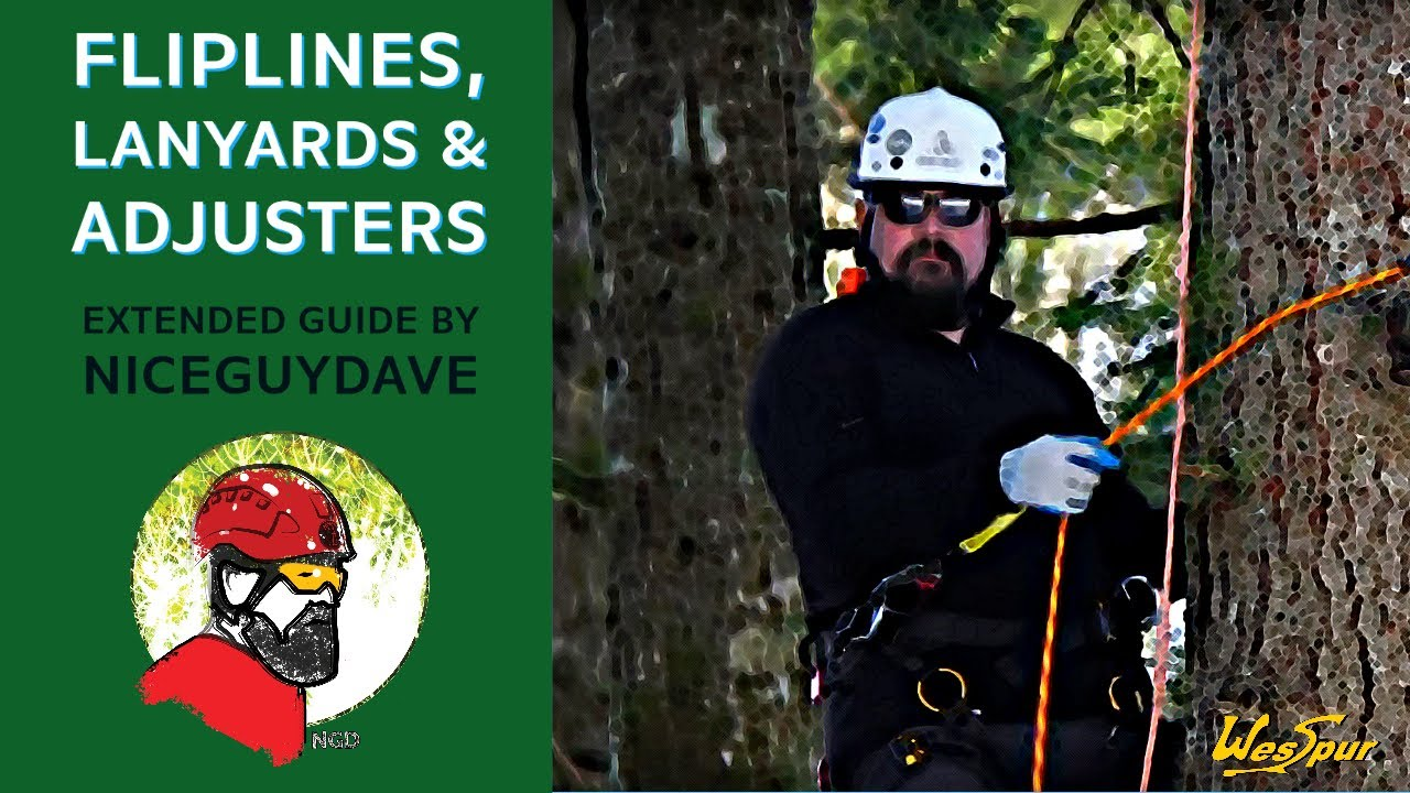 Guide To Fliplines Lanyards And Adjusters In Tree