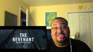 The Revenant | Official Trailer [HD] | 20th Century FOX REACTION