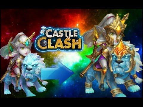 Castle Clash Evolving Lady Leo!