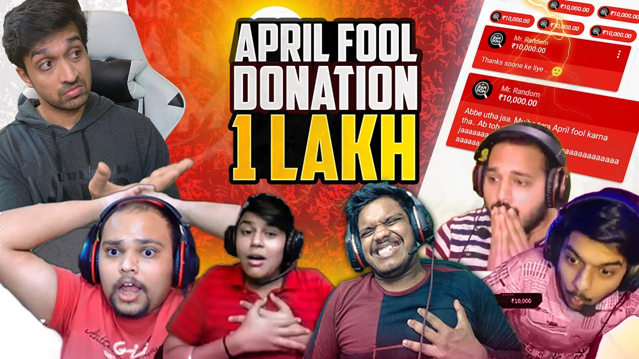 FOOLING WITH 1 LAKH SUPERCHAT || MR. RANDOM