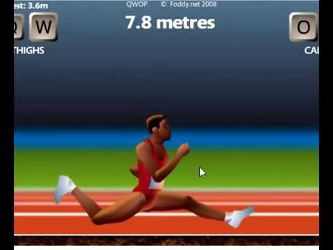 QWOP: Quiet like a ninja ! 15,9 m (video response)