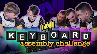 Na'Vi CS:GO - The Keyboard Assembly Challenge - HyperX Moments