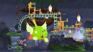 ANGRY BIRDS 2 - KING PIG PANIC DAILY CHALLENGE (Oct/15/2021) screenshot 4