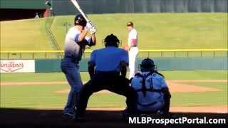 Mark Sappington vs. Matt Reynolds - Arizona Fall League 2014