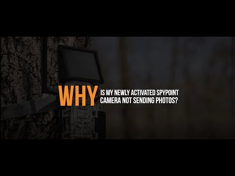 Video: Why is my Newly Activated SPYPOINT Camera Not Sending Photos? | SPYPOINT
