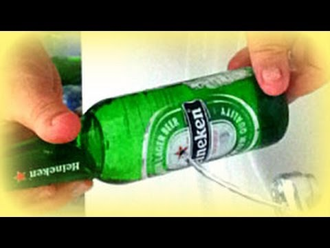 Best way to drill a hole in a glass bottle youtube for Glass cutter to make glasses from bottles