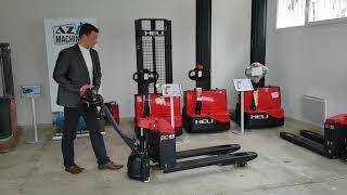 video presentation transpalette electrique heli 1 5t neuf az machinery