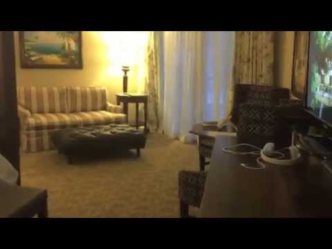 Walk-through of the Windsor Honeymoon Oceanview Club Level Suite (JS) at Sandals Royal Bahamian