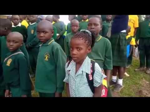 First Week at Captain's Choice Academy, Kenya  Jan 2020