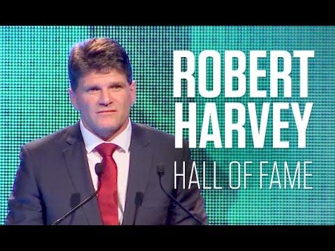 Robert Harvey: Hall of Fame speech