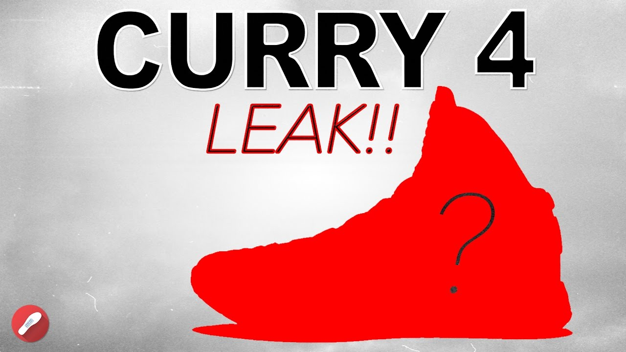 88c64f665663 Under Armour Curry 4 Leak !! - YouTube