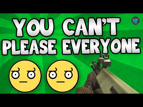 You Can't Please Everybody! : BO1 22-1 TDM On Jungle w/ AUG