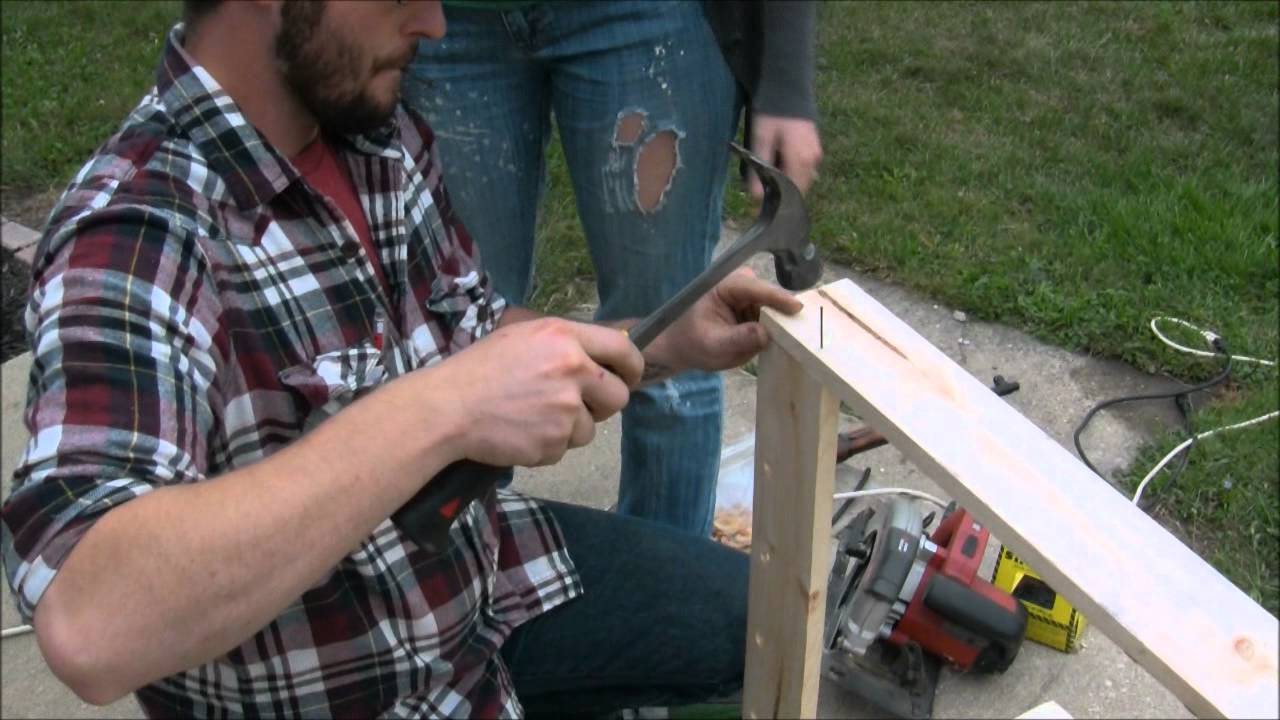 How To Make A Cheap Budget Gun Hunting Rifle Cabinet Rack For Do It Yourself