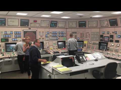 A behind-the-scenes look at a nuclear power plant