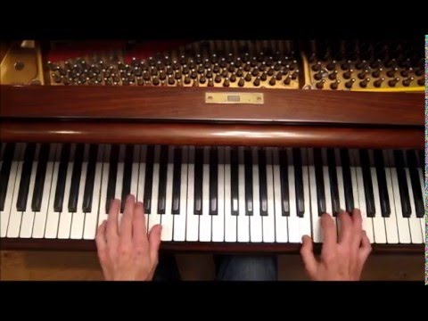 Stride Piano Exercises, Jazz Piano Tutorial