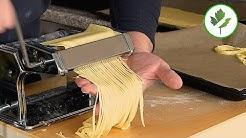 Frische Nudeln aus Hartweizengrieß einfach selber machen #Pasta