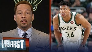Chris Broussard lists 3 reasons why there's pressure on Giannis | NBA | FIRST THINGS FIRST