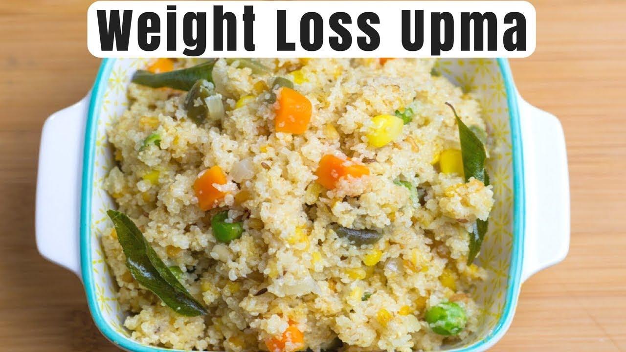 Weight Loss Upma with Veggies   Whole Wheat Upma Recipe ...
