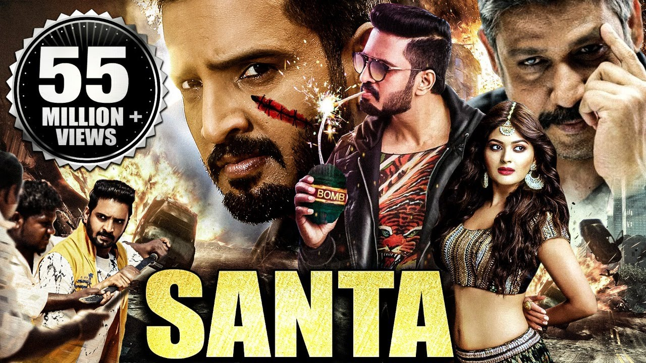 Download Santa (2021) NEW RELEASED Full Hindi Dubbed South Indian Movie | Santhanam, Vaibhavi Shandilya