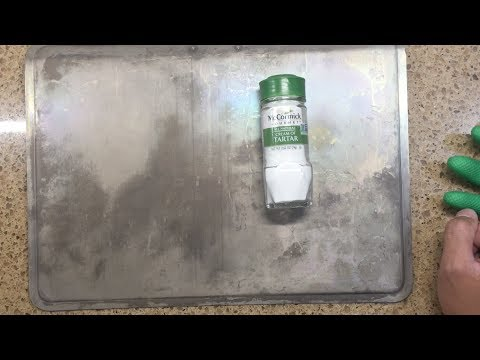 How to: No scrub: Clean/Restore Aluminum Cookwares after dishwasher using oven: Part 2
